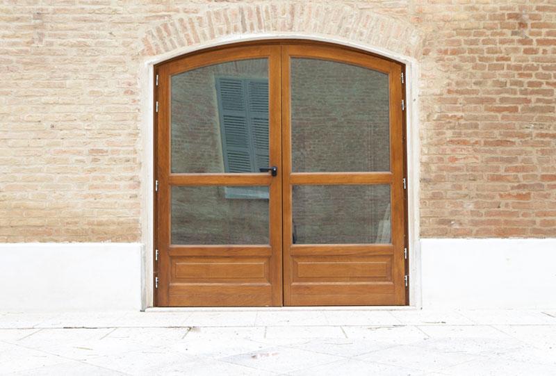 porta ingresso a vetro